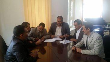 اتحاد الإعلاميين اليمنيين يوقع اتفاقية لتدريب الصحفيين مع صندوق تنمية المهارات