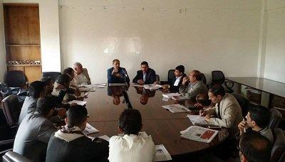 اجتماع برئاسة وزير الإعلام يناقش استعدادات المؤسسات الإعلامية لذكرى مرور أربعة أعوام من العدوان