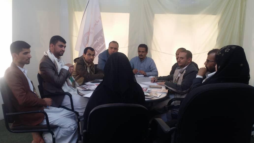 المكتب التنفيذي لاتحاد الإعلاميين اليمنيين ولجنته الرقابية يعقدان اجتماعا استثنائيا للوقوف على جريمة استهداف رئيس الاتحاد