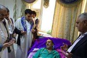 رئيس اتحاد الاعلاميين اليمنيين مازال يرقد في المستشفى  في عيد الفطر المبارك