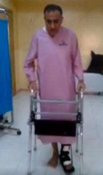 رئيس الاتحاد عبد الله صبري يقضي عيد الفطر في المستشفى