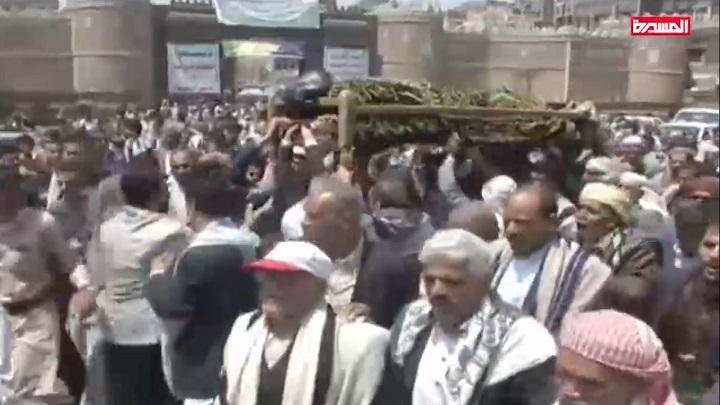 صنعاء تشيع جثمان فقيد الوطن الإعلامي أحمد الذهباني